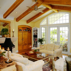 Traditional Family Room by Oliver Designs