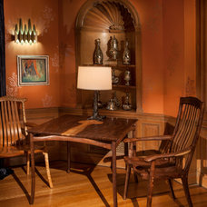 Craftsman Family Room by Nicholas Lawrence Design