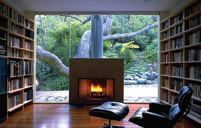 Hett stoff: Spektakulära kaminer och öppna spisar för alla sorters hem