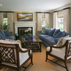 Traditional Family Room by Kathleen McGovern Studio of Interior Design