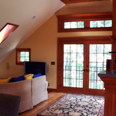 Traditional Family Room by fritsch design build