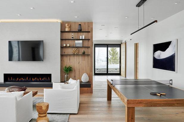 Современный Семейная комната by KA DesignWorks, Inc.