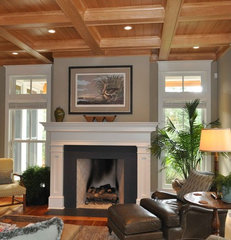 traditional family room by Frederick + Frederick Architects