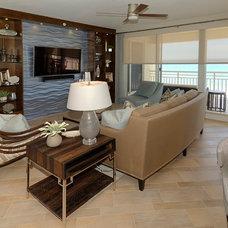 Contemporary Living Room by Decker Ross Interiors