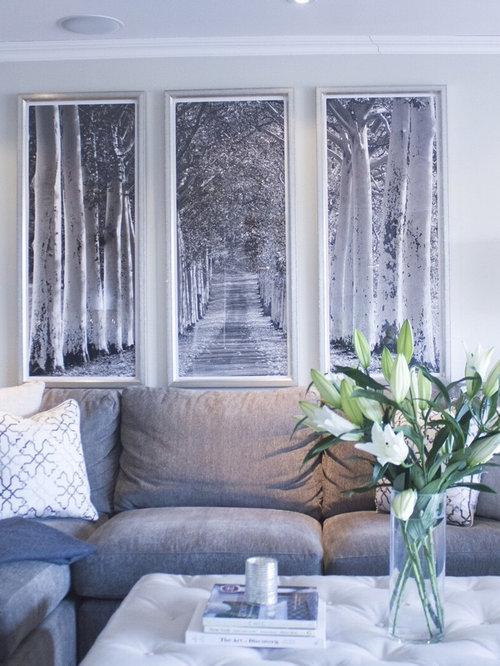 Ideas para salas de estar fotos de salas de estar azules for Sala de estar oscura