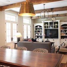 Contemporary Family Room by Nadia Watts Interior Design