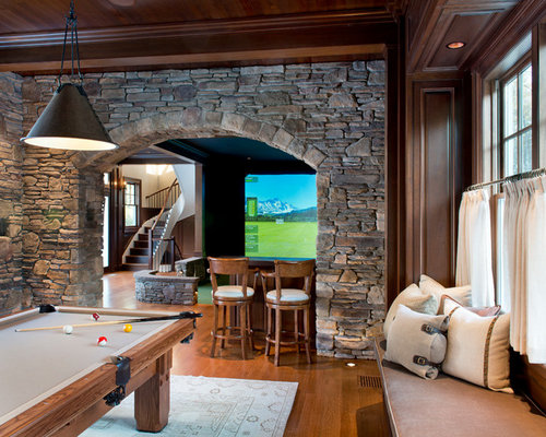Cool basement ideas houzz - Cool things for room ...