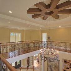 Mediterranean Family Room by Randy Jeffcoat Builders, Inc.