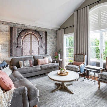 Hamptons Inspired with Islamic Influences