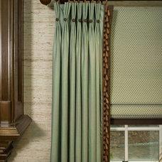 Family Room by Maria K. Bevill Interior Design