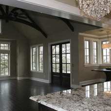 Traditional Family Room Havenwood - Kitchen View