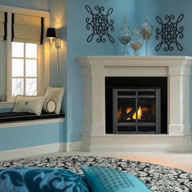 Heat & Glo SL-350TRS - SlimLine Gas Fireplaces fit where other fireplaces don't. A slender profile and safe, innovative venting options open up an array of unique installation possibilities. Define your favorite space with stunning flames and robust designs.