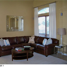 Traditional Family Room by Heather Scott Home & Design