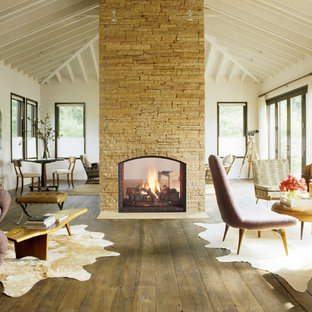 HeatnGlo Escape See-Through Fireplace