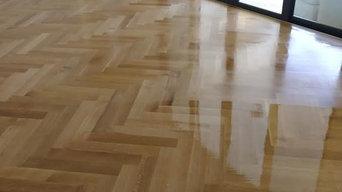 Herringbone White Oak Flooring