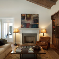 Traditional Family Room by James John Jetel Photography