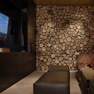 High Alpine Ranch Home Theater