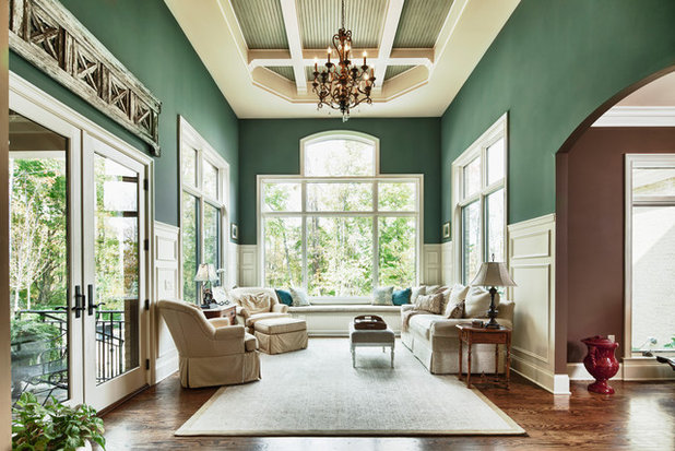 Traditional Family Room by Designs on Madison