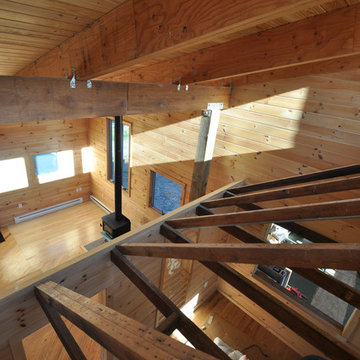 Highland House Exposed Structure