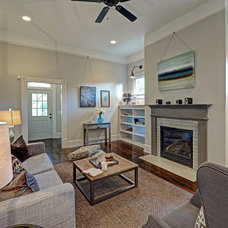 Traditional Family Room by Carl Mattison Design
