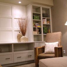 Family Room by Rochelle Lynne Design