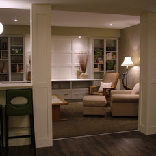 Family Room by Rochelle Lynne Design