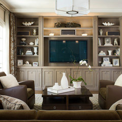 contemporary family room by Scheinholtz Associates