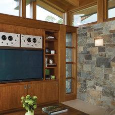 Midcentury Family Room by Sutton Suzuki Architects