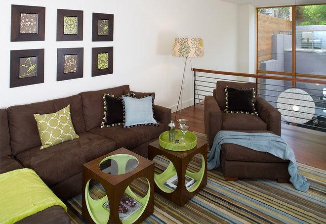 Modern Family Room by Kimball Starr Interior Design