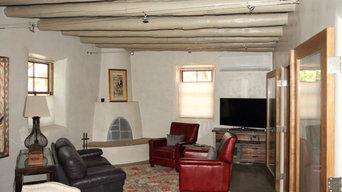 Historic adobe renovation