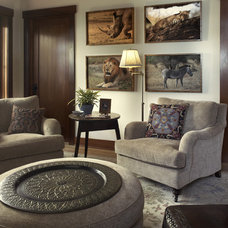 Traditional Family Room by Tommy Chambers Interiors, Inc.