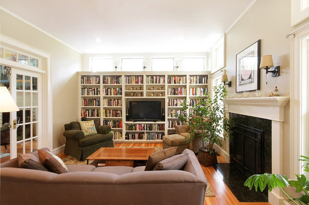 Traditional Family Room by Eric H. Gjerde AIA