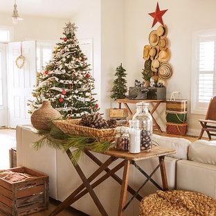 Стильный дизайн: гостиная комната в стиле шебби-шик - последний тренд
