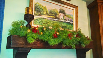Holiday Decorations from the Garden