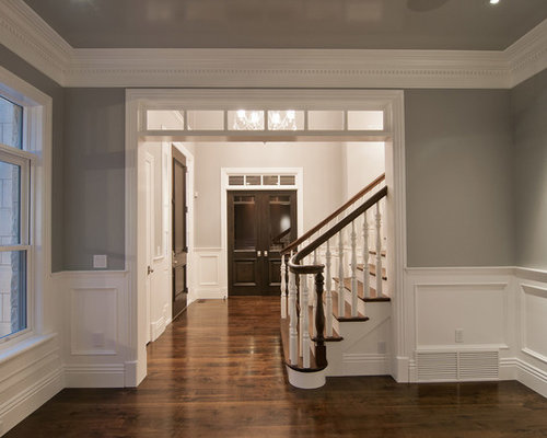 This is an example of a large victorian exterior in other with three - Grey Entryway Ideas Pictures Remodel And Decor