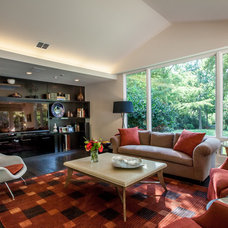 Contemporary Family Room by Key Residential