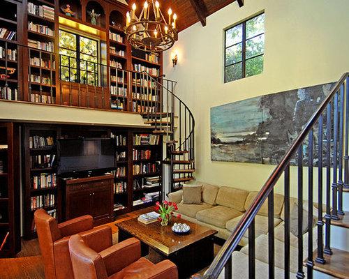 Mezzanine Library Bookshelves