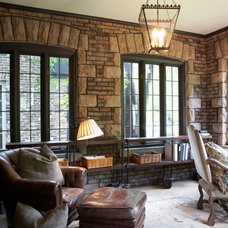Traditional Family Room by Tammy Connor Interior Design