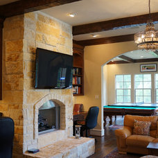 Mediterranean Family Room by Home Platinum Services LLC