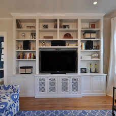 Contemporary Living Room by Anthony James Construction