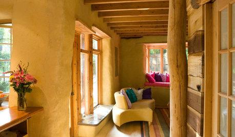 Rivestimenti in Terra Cruda per una Casa a Elevato Comfort Abitativo