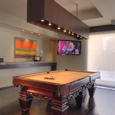 Contemporary Family Room by London Audio Ltd