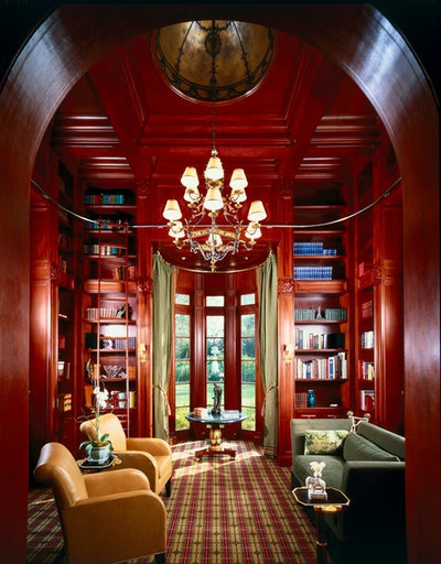Traditional Family Room by Gordon Gibson Construction