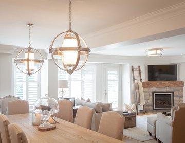 Home renovation - family room
