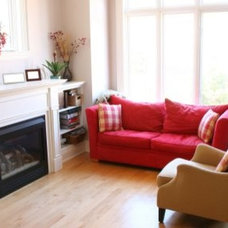 Traditional Family Room Home Staging Boston MA-Interior Stage Design- photo gallery