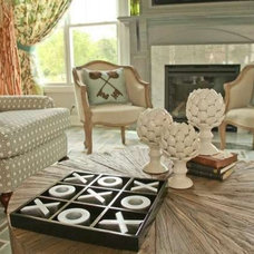 Eclectic Family Room by Reflections of You, by Amy, LLC