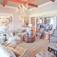Traditional Family Room by Lisa Lynn Designs Home Store & Design Studio