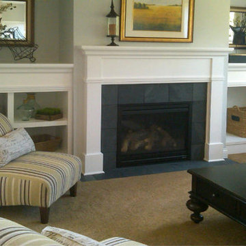 Homes By Tradition Fireplace