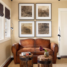 Traditional Family Room by Mark Ashby Design