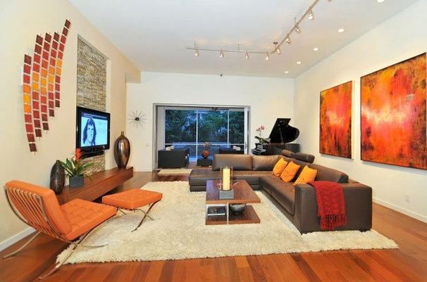 Modern Family Room House on Bonita Court Sarasota FL